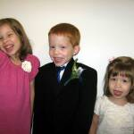Ainsley, Will and Maggie Graham