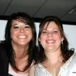Amber Beagley and Diane Traffas