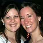 Diane Traffas and Megan Piester