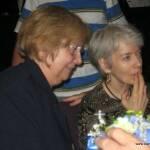 Elaine Graham and Joan Berman