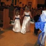 Flower Girls and Ring bearer entering the ceremony