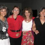 Jackie, Spanky, Renee and Marilyn